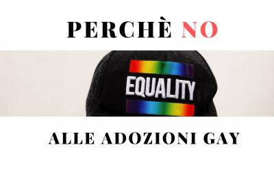 No alle adozioni GAY. Il Perchè! Prima i diritti di un bambino e poi i desideri di un adulto
